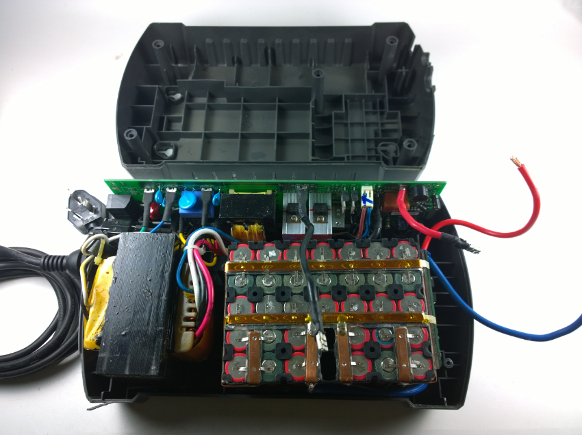 DIY Replacement Battery 12V 18650 Li-ion For APC Back-UPS