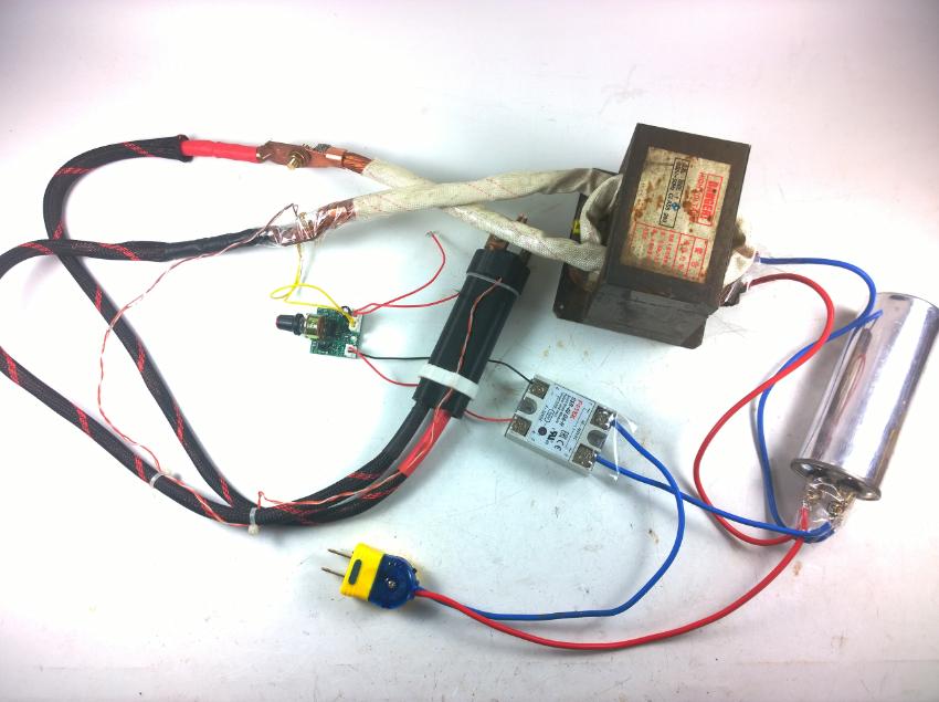 Diy Spot Welding Machine Microwave Transformer Yousun